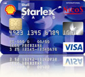 SHELL STARLEX CARD FACE